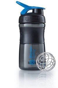 Blender Bottle Sportmixer 500ml black cyan