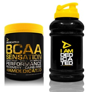 Dedicated Bcaa Sensation V.2 345g+Waterjug free