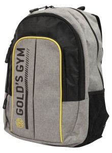 Golds Gym Contrast  Back Pack