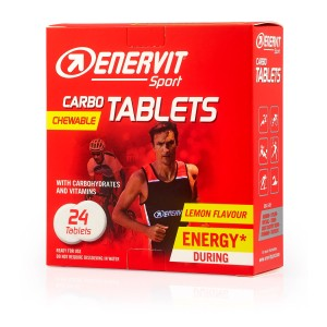 Enervit Carbo Tablets 24tab