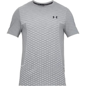 Under Armour T-Shirt Vanish Seamless SS Novelty grey