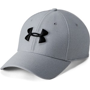 Under Armour Czapka Men's Heathered Blitzing 3.0 light grey