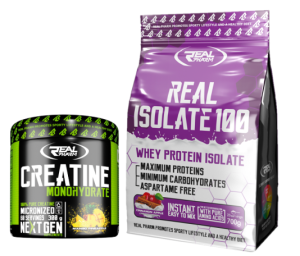 RealPharm Real Isolate 700g+Creatine 300g gratis