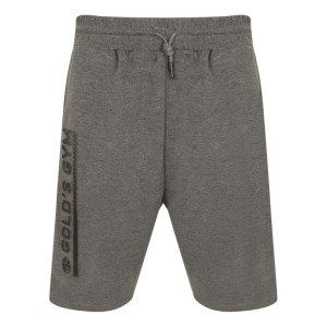 Golds Gym Embossed Shorts Charcoal