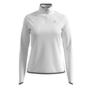 Odlo Bluza Tech. Damska Midlayer 1/2 zip Carve white