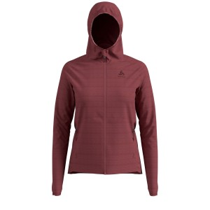Odlo Bluza Tech.Damska Midlayer Full zip Haven X-Warm