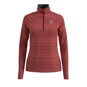 Odlo Bluza Tech.Damska Midlayer 1/2 zip Silvretta rose