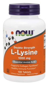 Now L-Lysine 1000mg 100tab