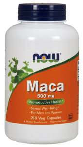 Now Maca 500mg 250veg caps