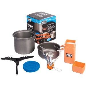 360 Degrees Zestaw Do Gotowania Furno Stove & Pot Set