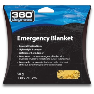 360 Degrees Koc Ratunkowy Emergency Blanket