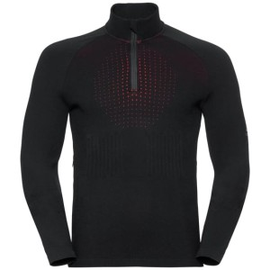 Odlo Bluza Tech. Męska I-Thermic Midlayer 1/2 Zip