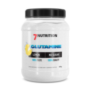 7Nutrition Glutamine 500g lemon