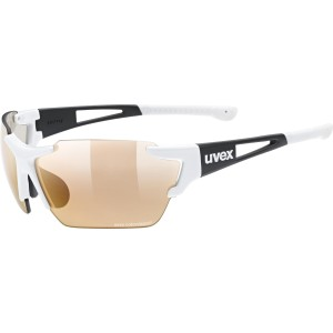 Uvex Okulary Sportstyle 803 race CV V white black mat