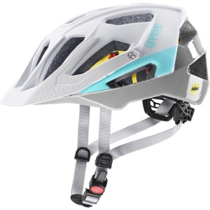 Uvex Kask Rowerowy Quatro cc Mips White Sky Mat