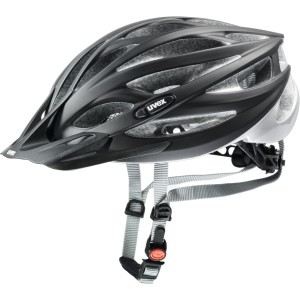 Uvex Kask Rowerowy Oversize Black Mat Silver 17