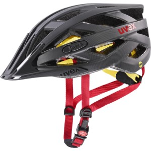 Uvex Kask Rowerowy I-vo cc  MIPS Titan Red Mat