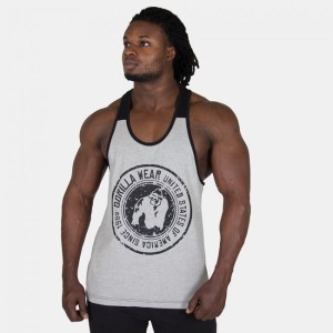 Gorilla Wear Roswell Tank Top Grey/Black