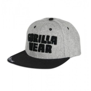 Gorilla Wear Soft Text Flat Brim Gray