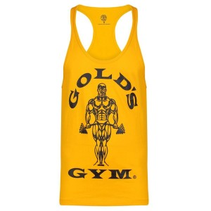 Golds Gym Stringer Joe Premium Gold