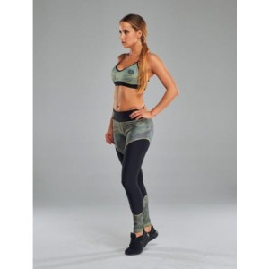 Olimp Women's Leggins Incognito camo & black