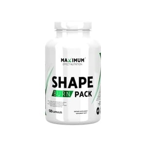 Maximum Effect Nutrition Shape Burn Pack 120kap