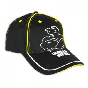 Gorilla Wear Muscle Monkey Cap Black/Yellow
