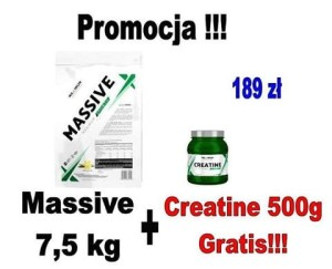 Maximum Effect Nutrition Massive Maximum Growth 7,5kg+creatine 500g