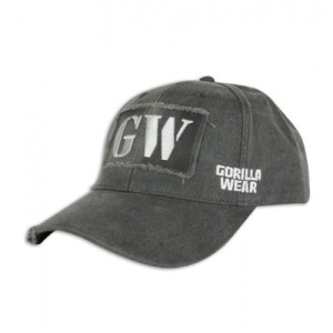 Gorilla Wear GW Washed Cap Gray