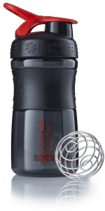 Blender Bottle Sportmixer 500ml black red