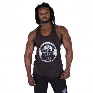 Gorilla Wear Mill Valley Tank Top Black
