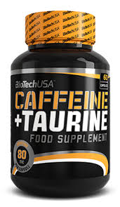 BioTech USA Caffeine and Taurine 60kap